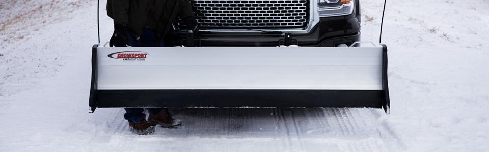 Transporting Snow Plow